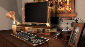 steampunk office. 28 Crazy Steampunk Home Office Designs O