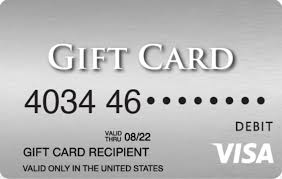 since we ve already had each of those types of giveaways this time we ll give away a 100 visa gift card
