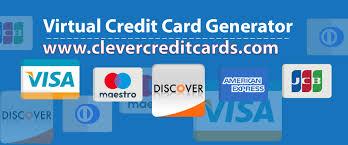 valid virtual credit cards