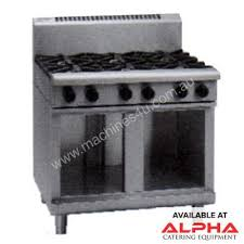 gas stove top cabinet. Waldorf RN8600G-CB 900mm 6 Burner Gas Cook Top -Cabinet Base Stove Cabinet