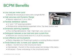 powerlogic branch circuit power meter bcpm ppt 9 bcpm