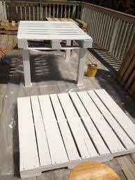 diy pallet outdoor dinning table. repurposed pallet table diy outdoor dinning