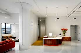 office reception interior. Reception Lounge Commercial Office Interior Design UM Project Brooklyn NYC