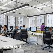 lighting in an office. we works closely with the architects and lighting designers understand potential of how linear led lights can be used in office are an