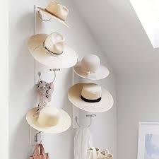 vertical hat storage wall hooks