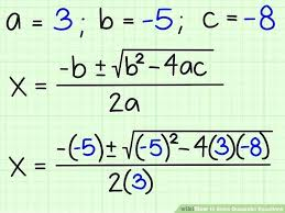 solutions to a quadratic equation math image titled solve quadratic equations step maths class 10 quadratic
