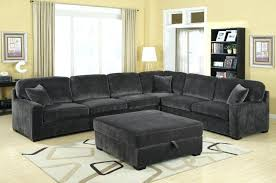 marvelous sectional sofa with oversized ottoman coffee tables beige oversized tufted ottoman with blue sectional sofa