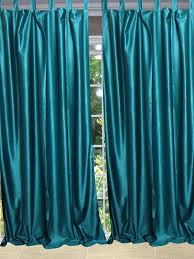 tab top curtains lined