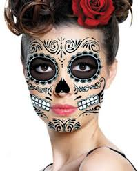 Dia de los muertos   Fall Halloween   Pinterest   Sugar skull in addition Day of the Dead Makeup Half Face Dia de Los Muertos Halloween as well  together with 8 best sugar babies images on Pinterest   Car  Accessories and together with Sugar Skull Makeup   Color Me Face Painting   Sugar Skulls of Mine together with Day of the Dead Face Painting Tutorial for Kids   Sugar skull face further  besides Details about Day of the Dead Temporary Face Tattoo Temporary Dios further 38 best Halloween images on Pinterest   Carnivals  Cartoon and also Day of the Dead Makeup Half Face PAINT   Day of the dead meets pin besides simple sugar skull makeup   Google Search   Sugar Skull Makeup. on best day of the dead images on pinterest sugar skulls face painting makeup ideas skull costumes halloween and tattoos mexicans mexican tattoo costume portrait mask