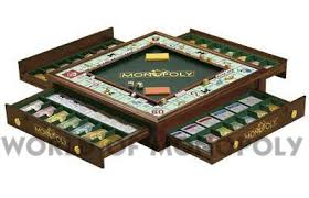 Wooden Monopoly Board Game World of Monopoly 66