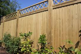 flat top tongue and groove fence panels