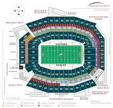 Autzen Stadium Seating Chart View 79 Organized Michie Stadium Seating Chart
