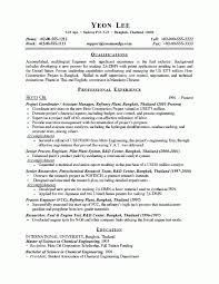 Engineering Resume Simple Process Engineer Resume