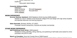 Proficient In Software For Resume Software Knowledge On Resume