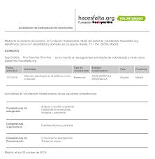 Descarga Tu Certificado De Voluntariado Y Competencias Blog