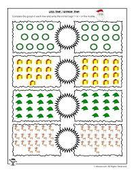 Less Than Greater Than Math Kindergarten Worksheets Maths Greater ...