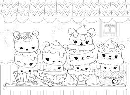 Num Noms Coloring Pages To Print Free Coloring Books With Num Noms