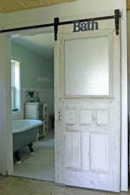 bathroom sliding door barn doors add style for your interior home design decor farmhouse and traditional lock set han