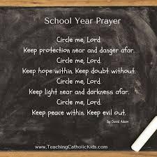 best teaching catholic kids images catholic a prayer to begin the school year