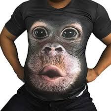 Men T-Shirts, Fashion Funny 3D Muscle Printed Short ... - Amazon.com