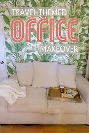travel design home office. Travel Themed Office Makeover Design Home H