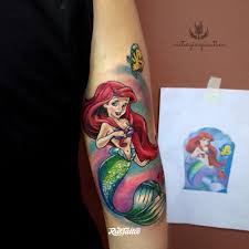 значение татуировки русалка фото и эскизы тату русалка Rustattoo