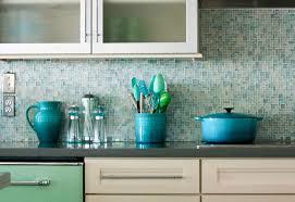 blue mosaic tile backsplash. Delighful Tile Blue Mosaic Tile Kitchen Backsplash On E