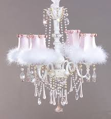 chandelier white chandelier for girls room astonishing chandelier for girls room