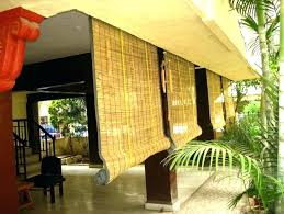 bamboo outside blinds perfect outdoor bamboo roll up