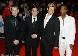 Blue shirtless ( duncan james, lee ryan, simon webbe and antony costa ) music : Duncan James Reveals Blue Are Planning A Comeback Tour In 2021 To Celebrate Their 20th Anniversary Daily Mail Online