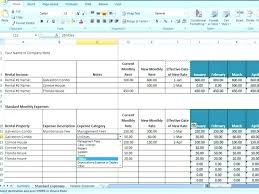 Income Outcome Spreadsheet Template Revenue And Expense Report ...