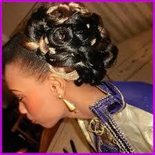 Coiffure Avec Tresse Africaine Pour Mariage 124549 Coiffure