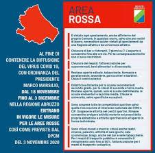 Coronavirus, da oggi l'Abruzzo è in zona rossa