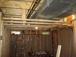 Paint Basement Ceiling Basement Ceiling Options And Room - Painted basement ceiling ideas
