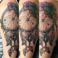 Custom Dream Catcher Tattooed By Bob Bob Price Tattoo Artist