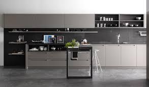 Muebles De Cocina En Blanco Y Gris