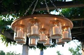 candle chandelier diy outdoor chandelier with solar lights outdoor mason jar chandelier outdoor chandelier homemade full