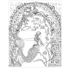 the little mermaid a coloring marvelous the little mermaid coloring book
