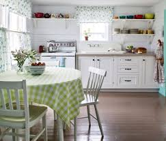 Shabby Chic Kitchen Curtains Cottage Style Kitchen Ideas Photo 7 Beautiful Pictures Of