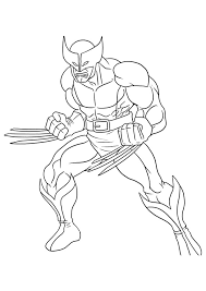 Small Picture wolverine coloring Pages Logan Coloring Pages Pinterest