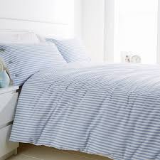 ikea nyponros quilt cover and 4 pillowcases arpandeb best home furniture bedroom brilliant white and blue striped