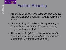 why starting the night before is a bad idea writing your  further reading mounsey c 2002 one step ahead essays and dissertations oxford