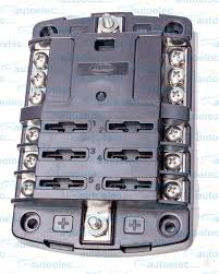fuse block holder caravan marine dual battery 12 volt 6 way 30 amp venus box cad file Ve Fuse Box #31
