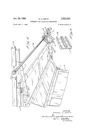 patent us2922638 overhead door operating mechanism google patents patent drawing