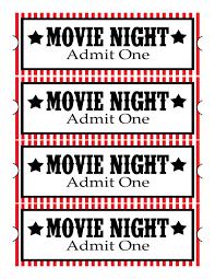 Sweet Daisy Designs Free Printables Home Movie Theatre Night Diy