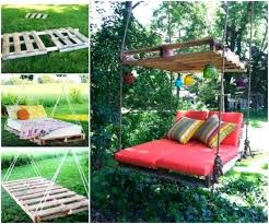 pallet swing ideas pallet swing bed easy instructions lots of ideas diy pallet swing instructions