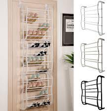 smashing tier shelf pair over door hanging shoe rack organiser storage stand tier shelf pair over
