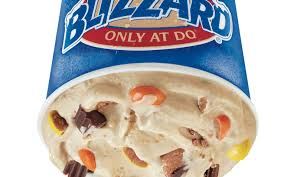 Dairy Queen Blizzard Nutrition Chart Dairy Queen Gets Outrageous With New Reeses Blizzard