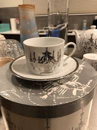 rosanna silver chandelier tea cups and saucer for in seattle wa offerup