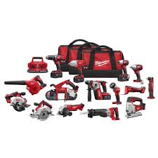 milwaukee m18 logo. milwaukee m18 18-volt lithium-ion cordless combo kit (15-tool) logo d